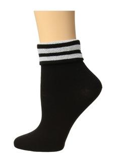 Adidas Originals 3-Stripe Fold Ankle Single Quarter Sock