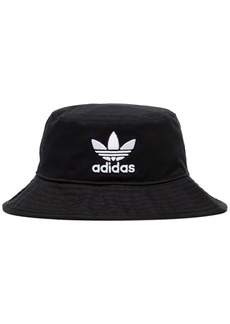Adidas Originals logo-embroidered cotton-canvas bucket hat