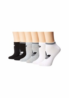 Adidas Originals Trefoil Superlite 6-Pack No Show Sock