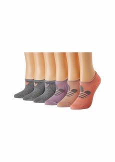 Adidas Originals Trefoil Superlite 6-Pack Super No Show Sock
