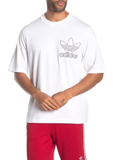 Adidas Outline Boxy T-Shirt