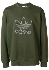 Adidas outline crewneck sweatshirt