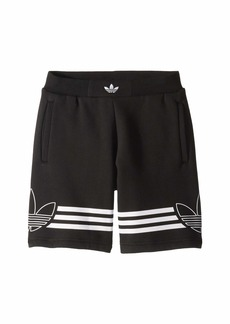 Adidas Outline Shorts (Little Kids/Big Kids)