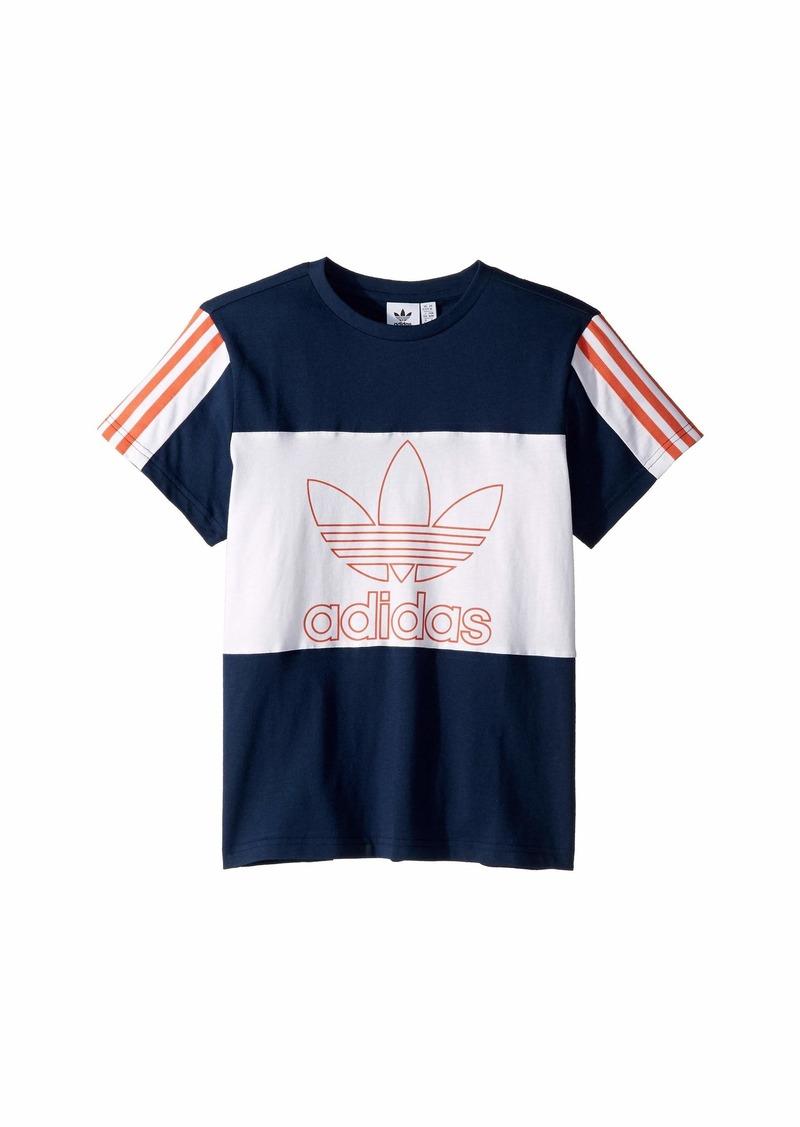 Adidas Outline Tee (Little Kids/Big Kids)