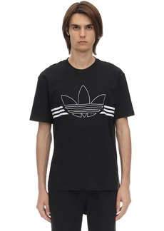 Adidas Outline Trf Cotton Jersey T-shirt