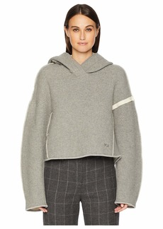 Adidas Oversized Spacer Wool Crop Hoodie