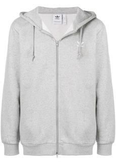 Adidas oversized zip front hoodie