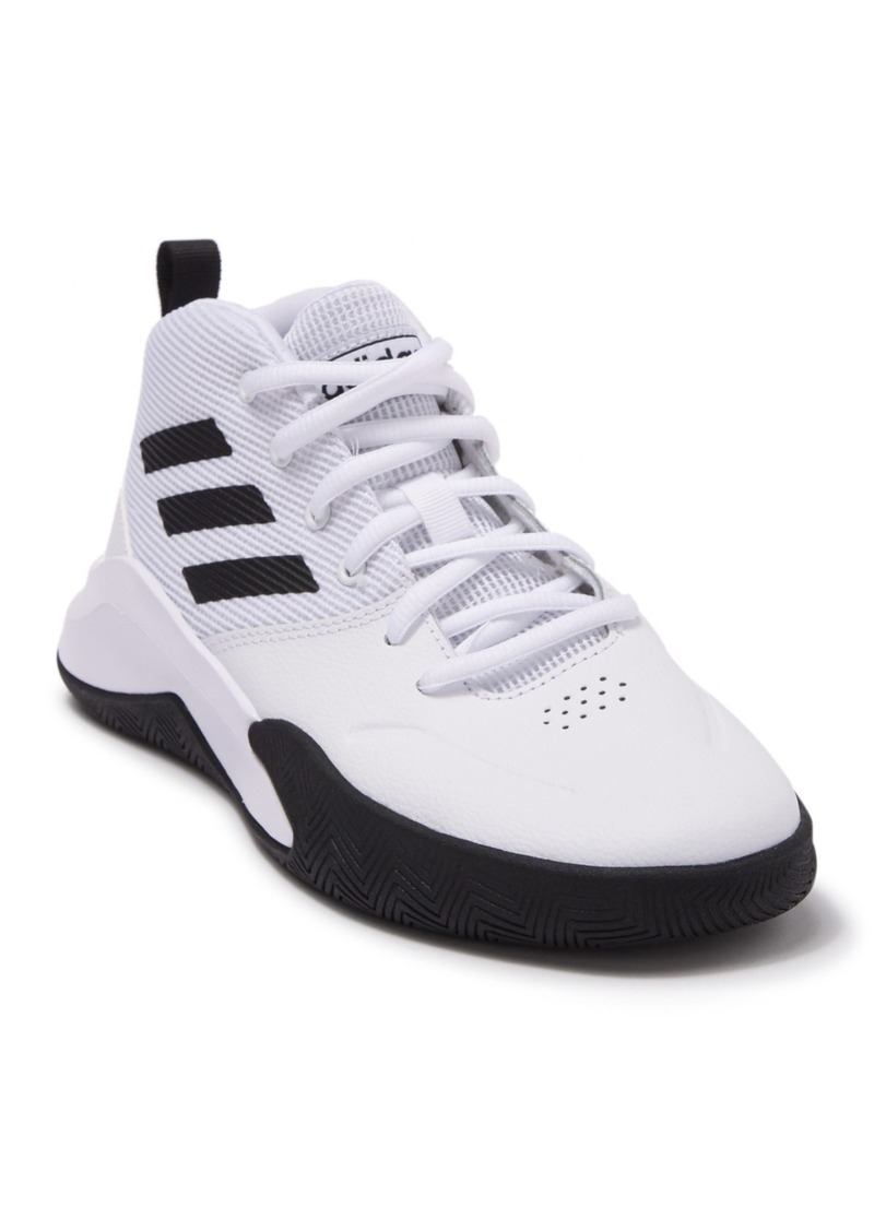 Adidas Owning The Game Basketball Sneaker - Wide Width (Toddler, Little Kid, & Big Kid)