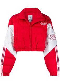 Adidas padded cropped jacket