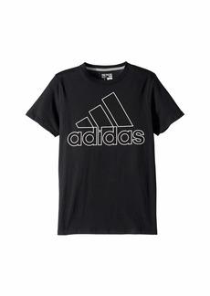 Adidas Performance Logo Tee (Big Kids)