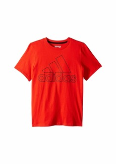Adidas Performance Logo Tee (Big Kids)