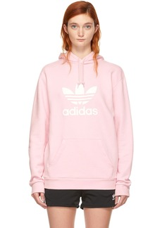 Adidas Pink Warm-Up Hoodie