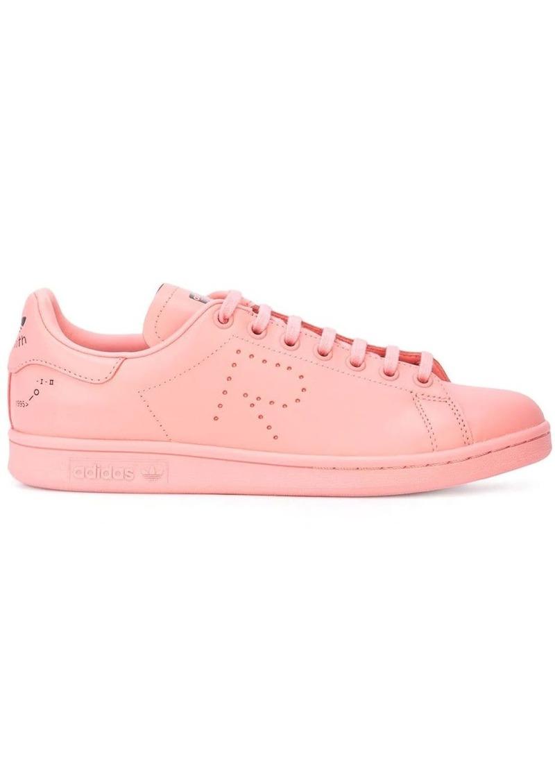 Adidas pink X raf simons stan smith leather sneakers