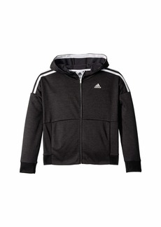 Adidas Poly Fleece Jacket (Big Kids)