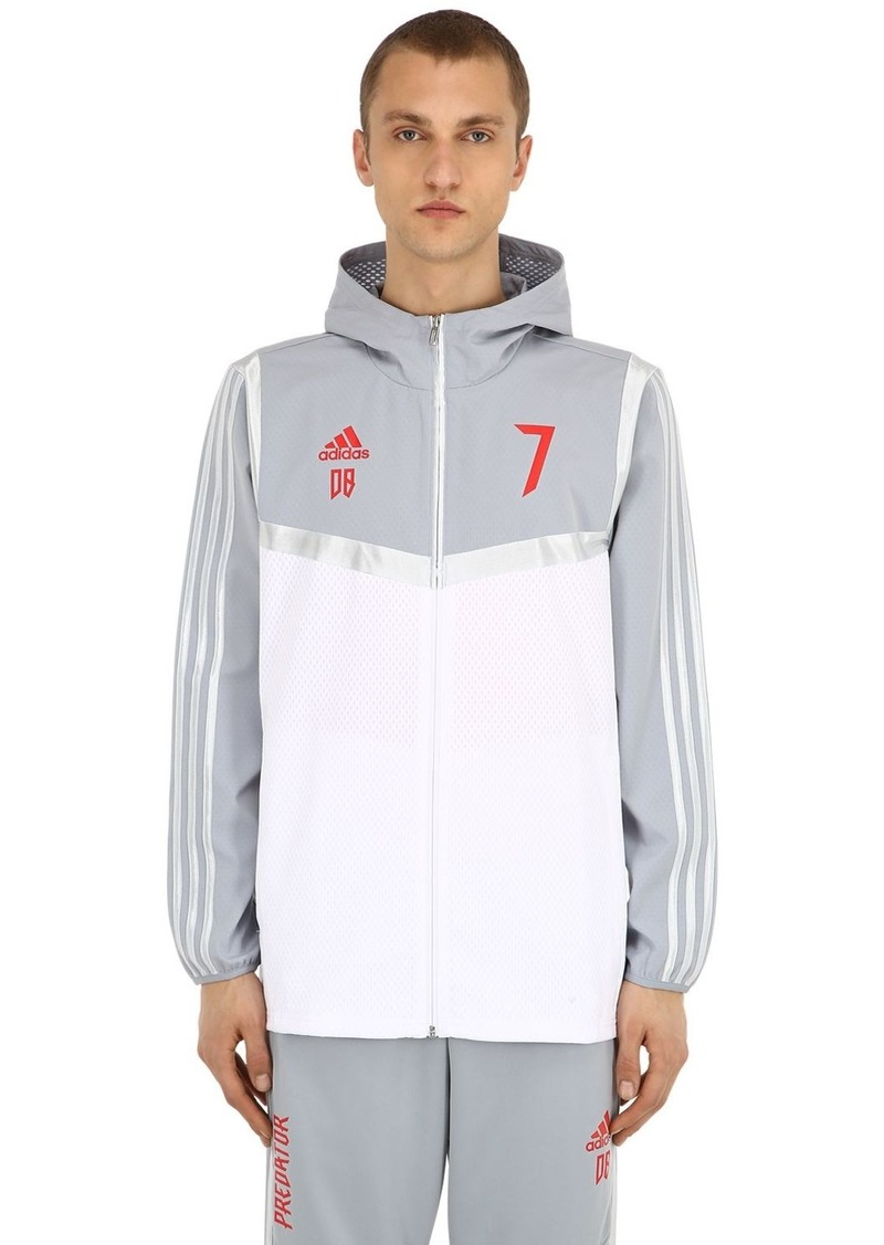 Adidas Pre Beckham Hd Zip-up Techno Jacket