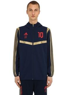 Adidas Pre Zidane Hd Zip-up Techno Jacket