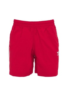 Adidas Primegreen 3-stripe Tech Swim Shorts
