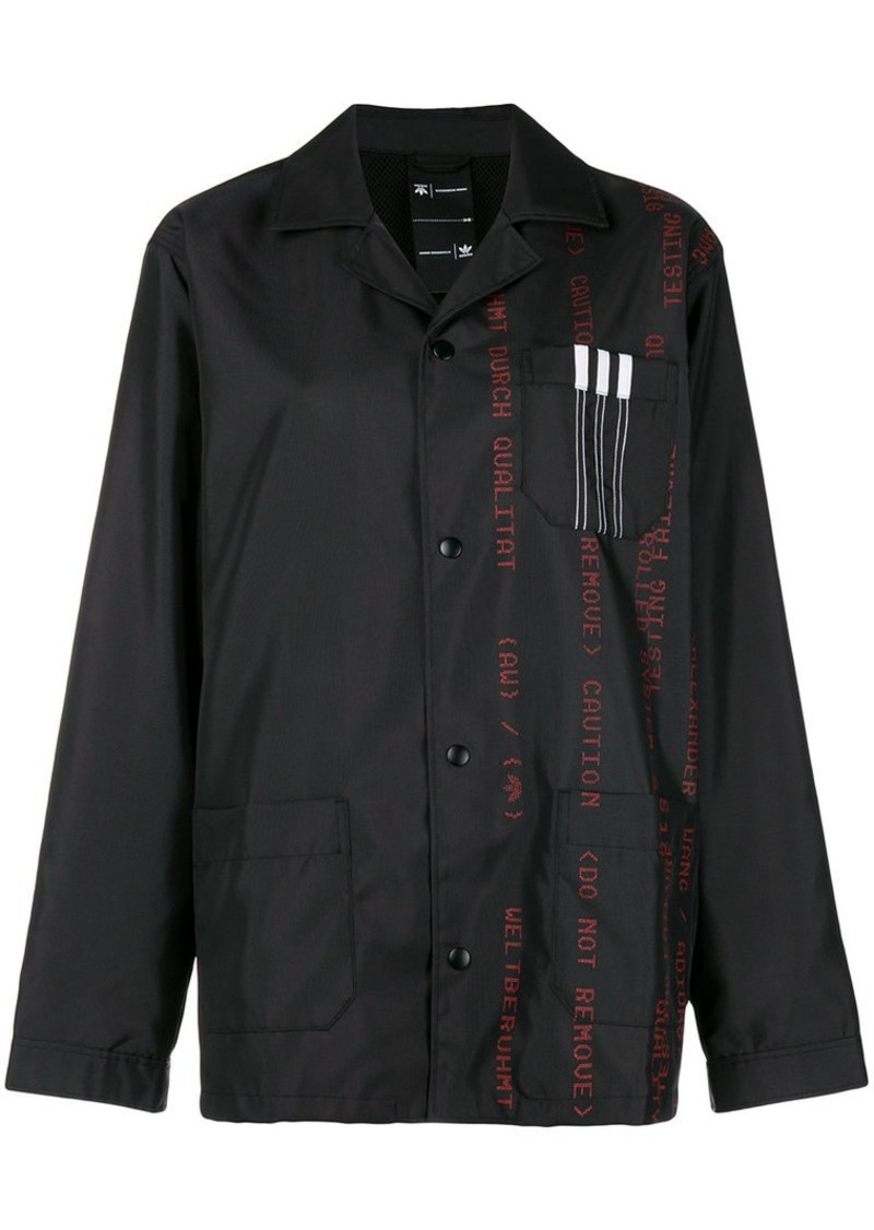 Adidas printed canvas jacket