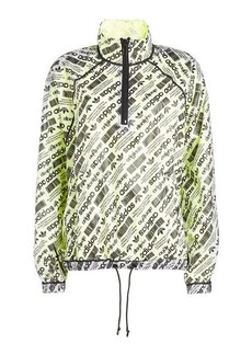 Adidas Printed Parka with Mesh
