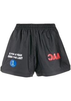 Adidas printed shell shorts