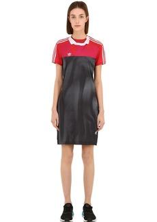 Adidas Printed Tech Mini Dress