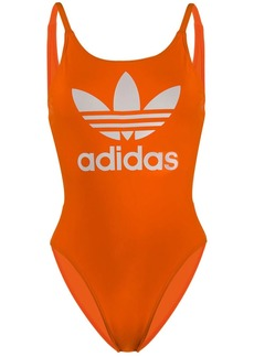 Adidas printed trefoil swimsuit