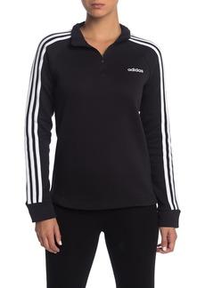 Adidas Quarter Zip 3-Stripe Pullover