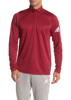 Adidas Quarter Zip Active Pullover Top