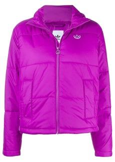 Adidas recycled short puffer jacket