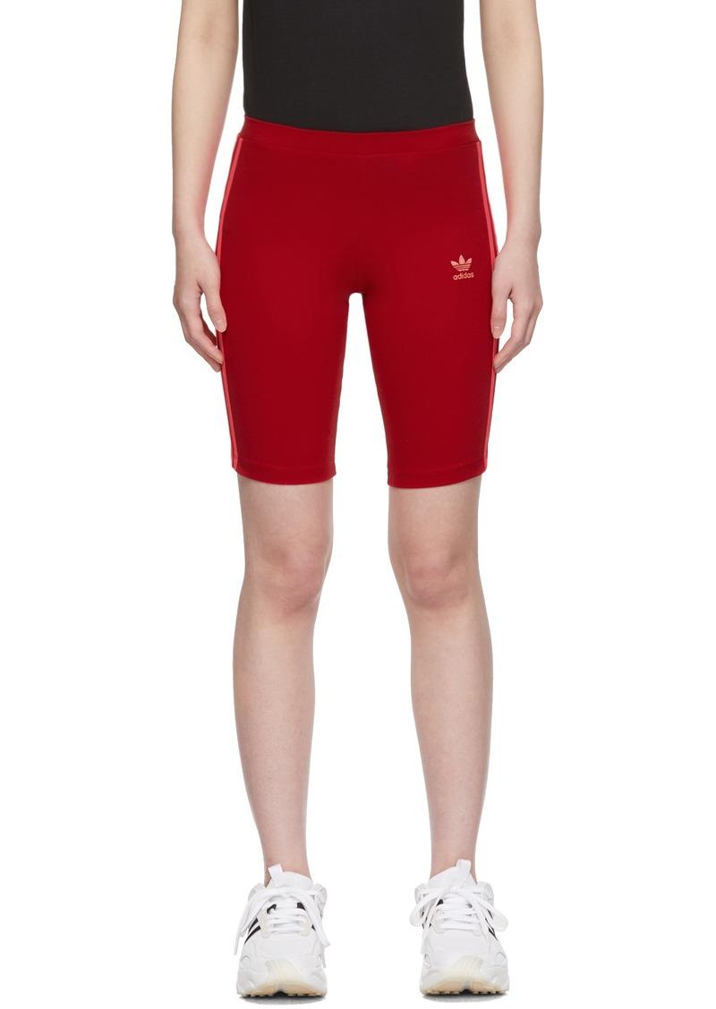 Adidas Red Cycling Shorts