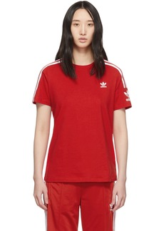 Adidas Red Lock Up T-Shirt