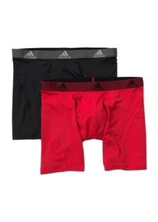 Adidas Relaxed Climalite Performance Boxer Brief - Pack of 2