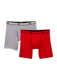 Adidas Relaxed Performance Boxer Briefs - Pack of 2