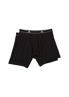 Adidas Relaxed Performance Stretch Cotton 2-Pack Boxer Brief
