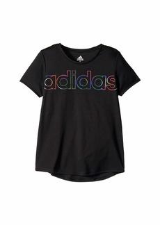Adidas Replenishment Scoop Neck Tee (Big Kids)