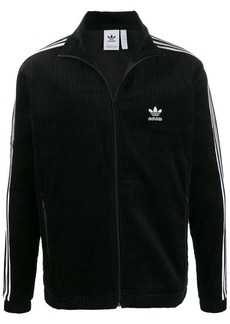 Adidas ribbed design sports jacket