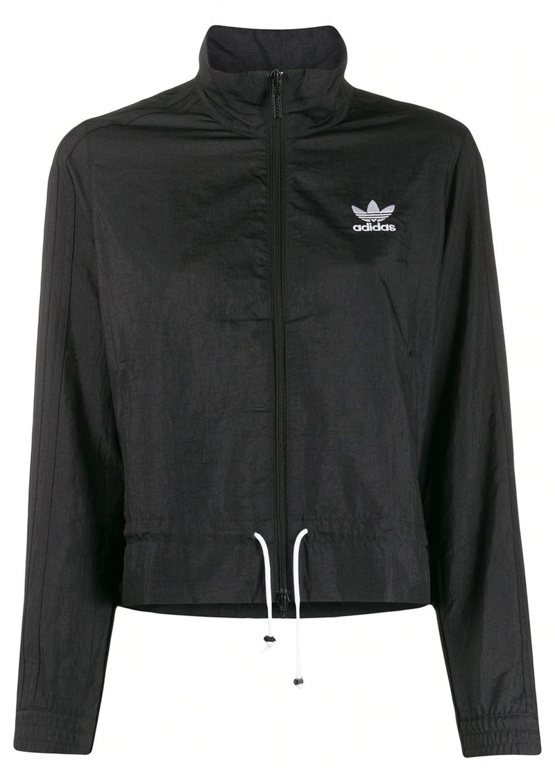 Adidas ruffled track jacket