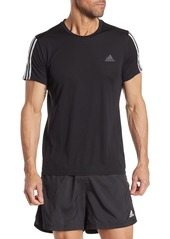 Adidas Run 3-Stripes Climalite T-Shirt