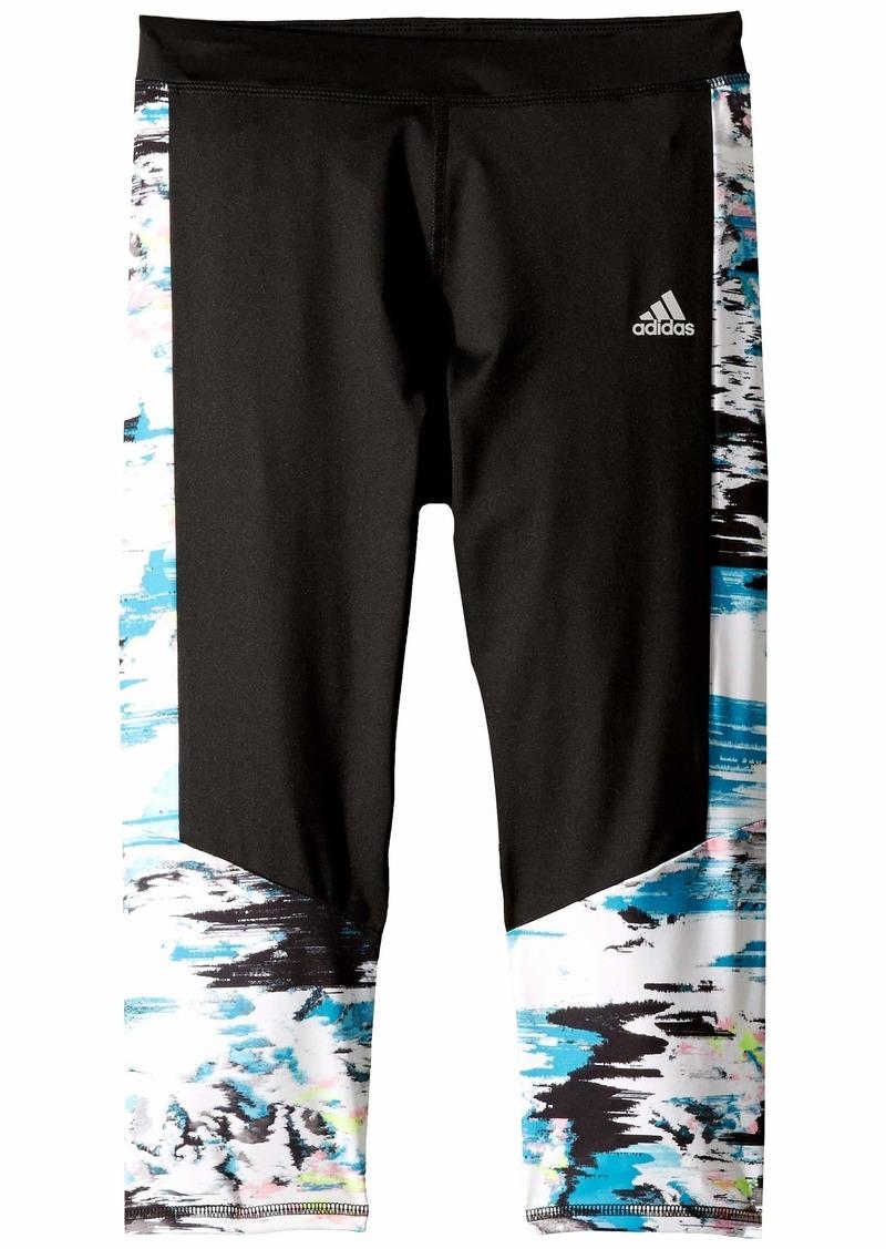 Adidas Run Capri Tights (Big Kids)