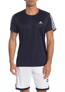 Adidas Running 3 Stripes T-Shirt