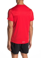 Adidas Running 3-Stripes Tee