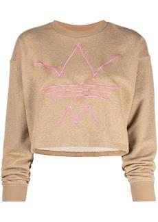 Adidas R.Y.V cropped sweatshirt