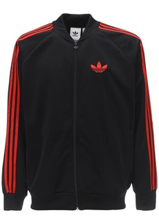 Adidas Shiny Nylon Track Top