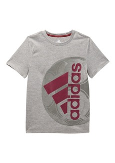 Adidas Short Sleeve Active Sport Tee (Big Boys)