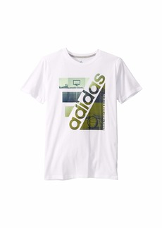 Adidas Short Sleeve Court Gradient Tee (Big Kids)