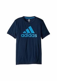 Adidas Short Sleeve Dot Camo Logo Tee (Big Kids)