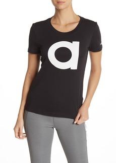 Adidas Short Sleeve Front Logo Print T-Shirt