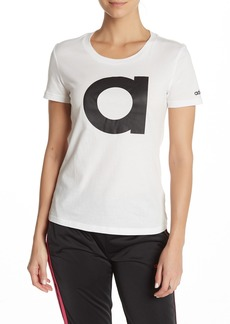 Adidas Short Sleeve Front Logo T-Shirt