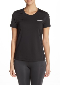 Adidas Short Sleeve Logo Print T-Shirt