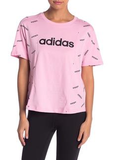 Adidas Short Sleeve Logo T-Shirt